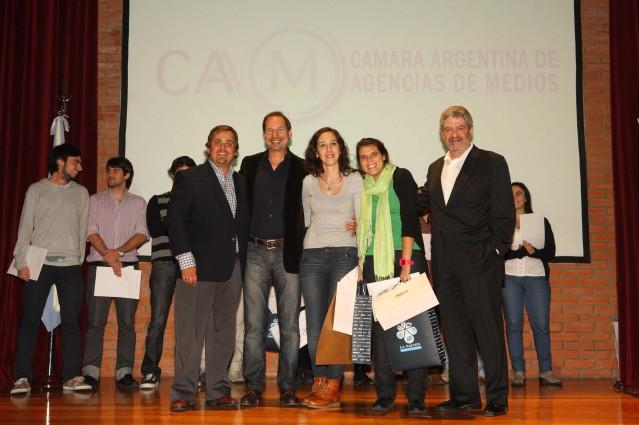 Sebastian Civit, Miguel Reca, Melisa Rodriguez, Agustina Rodriguez Boga Narbaes y Roberto Hernandez.