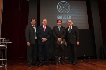Daniel Castaldo; Juan Gujis; Gustavo Brizuela y Enrique Robino